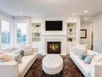 Белая гостиная — как правильно сочетать ее дизайн? 80 реальных фото!