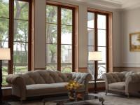 Большое окно в интерьере — рекомендации по оформлению (77 фото)
