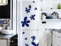 Декор холодильника — оформляем со вкусом (40 фото)