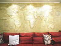 Декоративная отделка стен — какой материал выбрать? Фото обзор примеров.