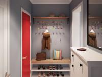 Декор прихожей — интересные идеи современных дизайнеров на 130 фото!