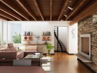 Деревянные потолки в интерьере — оформляем стильно и с умом (70 фото)