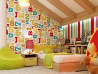 Фотообои для детской комнаты — для мальчиков и девочек. Фото интересных вариантов.