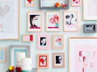 Фоторамки на стену — оригинальные дизайнерские решения +70 фото