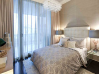 Голубые шторы — стильное и уютное сочетания в интерьере (80 фото)