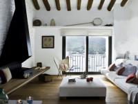 Гостиная в средиземноморском стиле — необычный и уютный дизайн на 65 фото