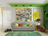 Гостиная в стиле фьюжн — обзор лучших дизайнерских решений (50 фото)