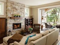 Камин в гостиной — оформляем стильно и с умом (60 фото дизайна)