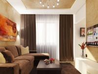 Коричневые шторы — как их сочетать в интерьере? Ответ в этой статье! +70 фото