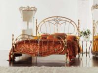 Кованые кровати — 80 фото изумительных решений в интерьере