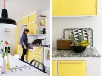 Кухня желтого цвета — стильное оформление дизайна в 2017 году на фото!