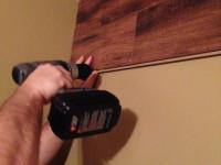 Ламинат на стене — нестандартное решение! (45 фото идей)