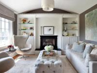 Маленькая гостиная — как сохранить удобство в уютном помещении смотрите на фото!