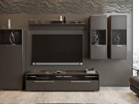 Мини стенки для гостиной — идеальный способ обустройства с комфортом на фото!