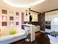 Ниша в гостиной — удобное решение в современном интерьере (116 фото)