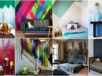 Покраска стен в интерьере — фото идеального сочетания + рекомендации
