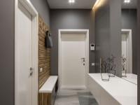 Прихожая серого цвета — оформляем со вкусом! 80 фото идей дизайна.
