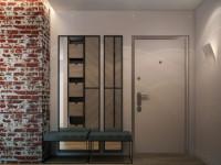 Прихожая в стиле лофт — варианты стильного и уютного дизайна (65 фото)
