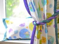 Шторы в детскую комнату: фото-обзор нестандартных дизайнерских решений
