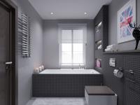 Ванная комната серого цвета — нейтральный цвет в стильном интерьере +93 фото
