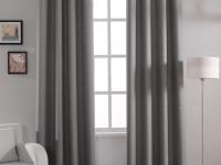 Серые шторы — безупречное сочетание современного дизайна (65 фото)