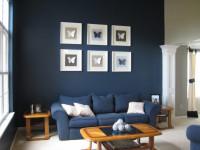 Синие стены — варианты красивого сочетания (65 фото дизайна)