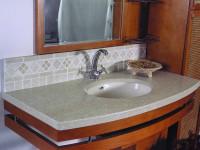 Столешницы в ванную комнату — выберите лучшее для своего интерьера с фото примерами!
