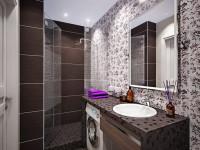 Ванная комната 3 кв. м. — как сделать маленькую ванную комфортной смотрите на фото!