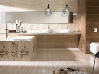 Ванная комната бежевого цвета — нежный оттенок в стильном интерьере на 76 фото!