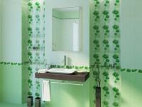 Ванная комната зеленого цвета — нежный и уютный дизайн