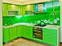 Кухня зеленого цвета — оригинальный дизайн и лучшие сочетания цветов!
