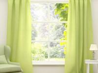 Зеленые шторы в интерьере — стильный дизайн со вкусом! 75 фото идей!