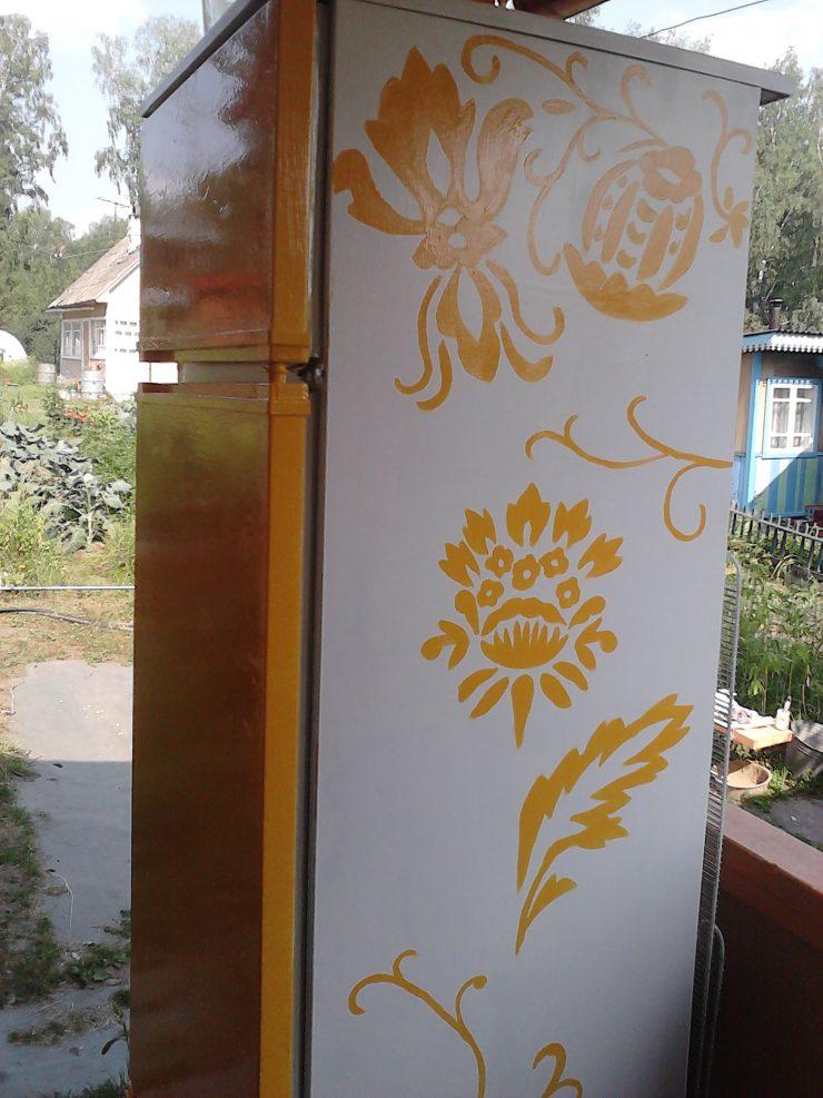 Поделки из старых холодильников фото