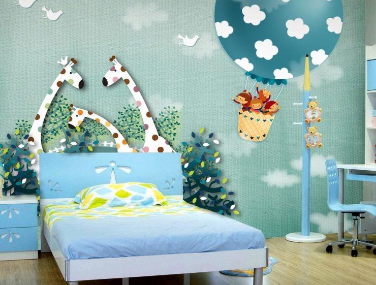 фотообои для детской комнаты 55 фото примеров дизайна