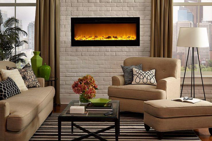 Камины в интерьере гостиной фото в городской квартире цена