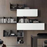 Книжные полки в интерьере - 50 фото примеров дизайна