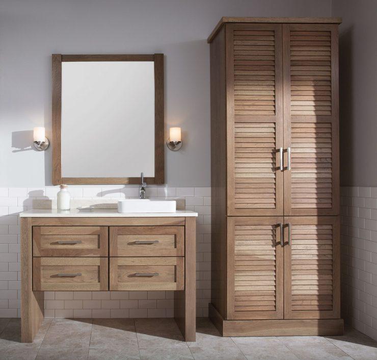 мебель для ванной комнаты 85 фото лучших идей дизайна 2017