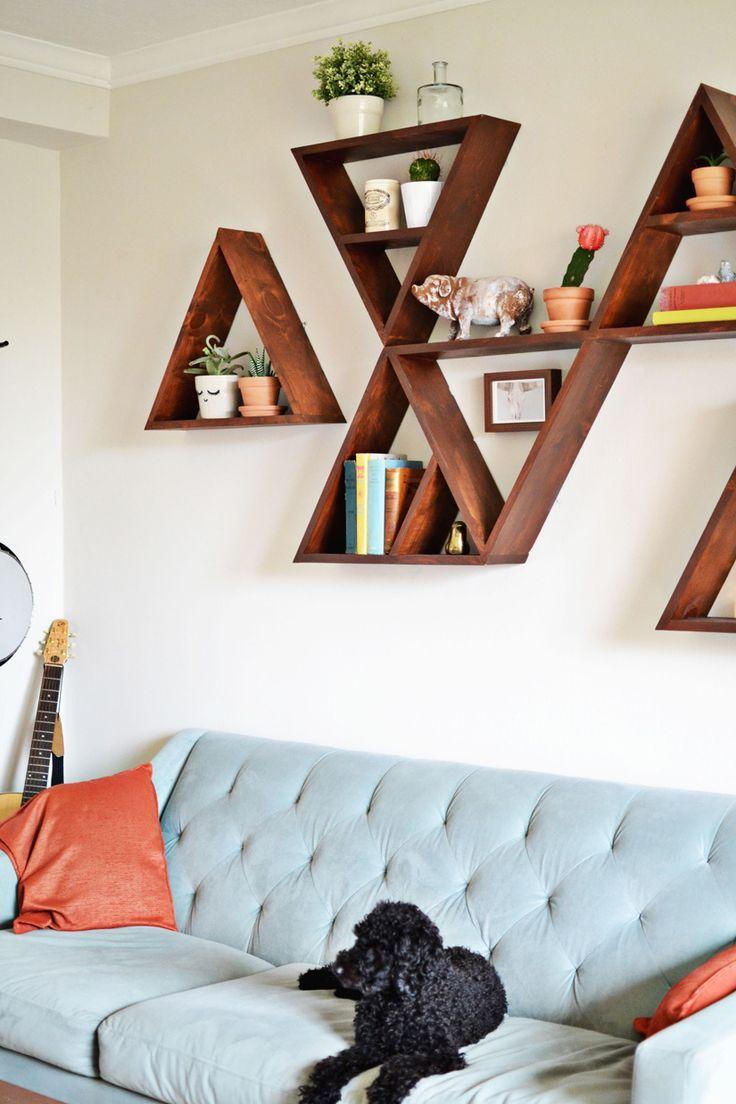 Как сделать дома полки на стену